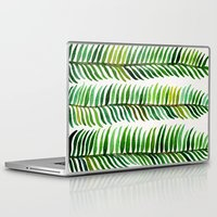 winter Laptop & iPad Skins featuring Seaweed by Cat Coquillette