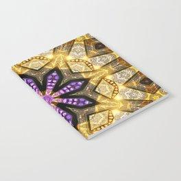 Purple Star Rustica Notebook
