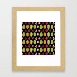 strange fruits Framed Art Print