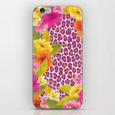 Floral Leopard  iPhone & iPod Skin