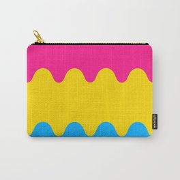 Wavy Pansexual Flag Carry-All Pouch