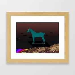Hover Framed Art Print