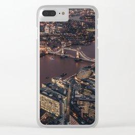 London #society6 #decor #buyart Clear iPhone Case