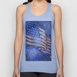 I Pledge Allegiance to the Flag Unisex Tank Top