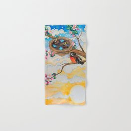 Spring: Mother Robin Hand & Bath Towel