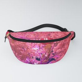 Lunar New Year Celebration- Tree and Lantern Fanny Pack