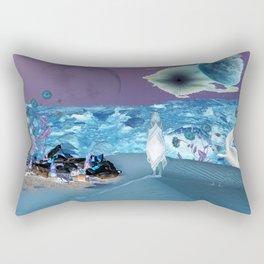 Planet Trash Rectangular Pillow