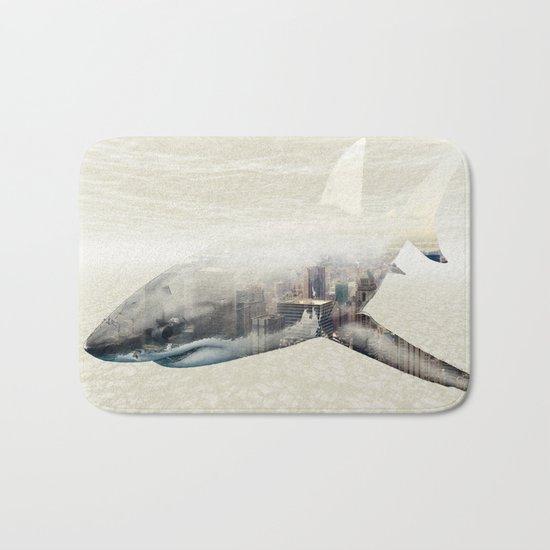 Sharks of New York Bath Mat