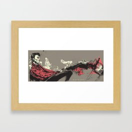 we are the people Framed Art Print