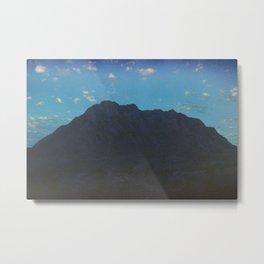 Expired Mountain Metal Print