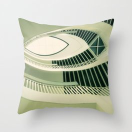 teardrop stairs Throw Pillow