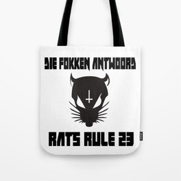 Rats Rule 23 Tote Bag