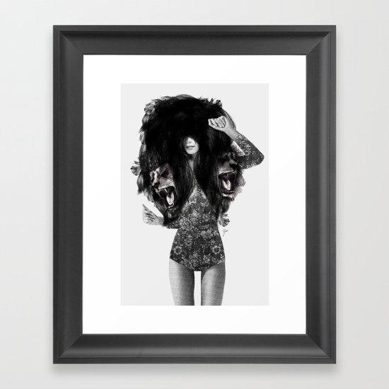 Lion #2 Framed Art Print