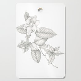 Gardenia Cutting Board