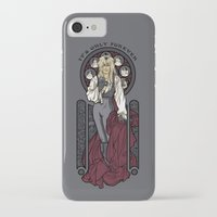 hallion iPhone & iPod Cases featuring It's not long at all.... by Karen Hallion Illustrations