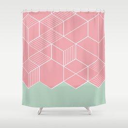 SORBETECORAL Shower Curtain