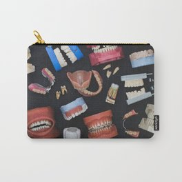 Tooth Collage Carry-All Pouch