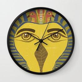 King Tut Bird Wall Clock