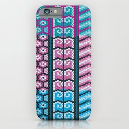 Mexican Huichol Art iPhone Case