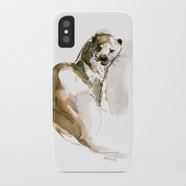 Totem: Eurasian River Otter (c) 2017 iPhone Case