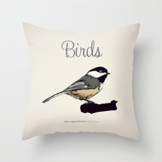 BIRDS 03 Throw Pillow