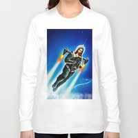 christ Long Sleeve T-shirts featuring Cosmic Christ by Saint Lepus