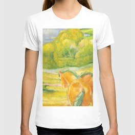 """Franz Marc """"Large Landscape I (Landschaft I)"""" T-shirt"""