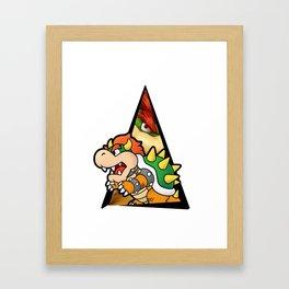 bowser Framed Art Print