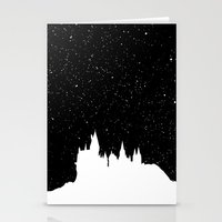 hogwarts Stationery Cards featuring Hogwarts Space by IA Apparel
