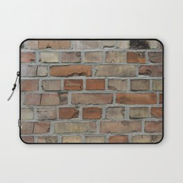 Vintage red brick wall texture Laptop Sleeve