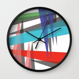 Ambient 19 on white Wall Clock