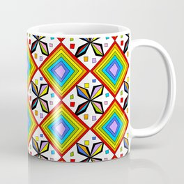symetric patterns 75-mandala,geometric,rosace,harmony,star,symmetry Coffee Mug