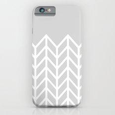 LACE CHEVRON (GRAY) iPhone 6s Slim Case