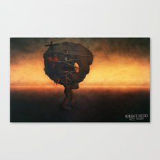 The Weight Of Exsistance Canvas Print