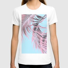 Delicate Pink Palms T-shirt