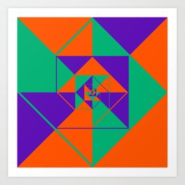 SquaRial Art Print