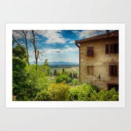 San Gimignano, Tuscany, Italy Art Print