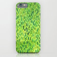 Watercolor Grass Pattern Green by Robayre iPhone 6s Slim Case