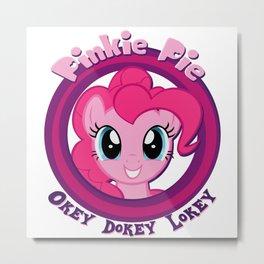 Pinkie Pie - My Little Pony Metal Print