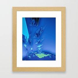 Sonic Invasion 1 Framed Art Print