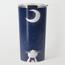 Moon Bunny Travel Mug