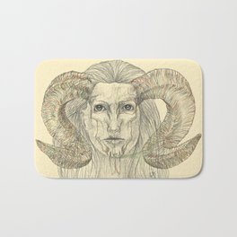 Horns Bath Mat
