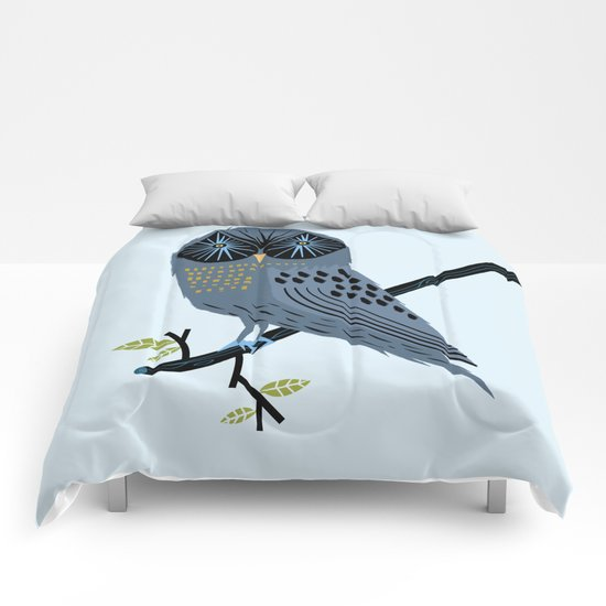 The Perching Owl Comforters