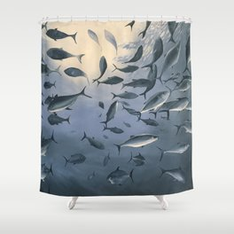 School of Fish 2 Shower Curtain