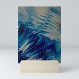Eiskristalle Mini Art Print