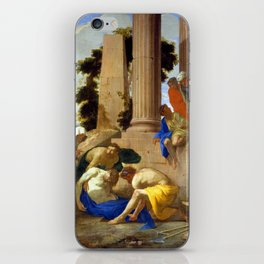 Andrea di Leone Tobit Burying the Dead iPhone Skin
