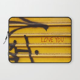 Love You, New York Laptop Sleeve