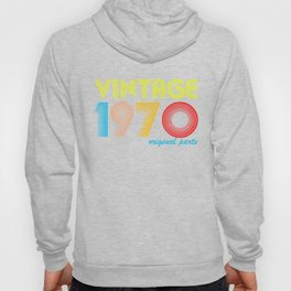 50 Years Old - Made in 1970 - Vintage 50th Birthday Hoody
