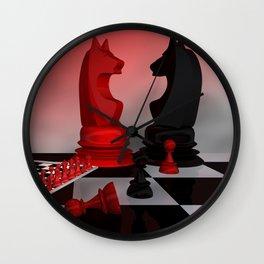 who likes chess? Wall Clock