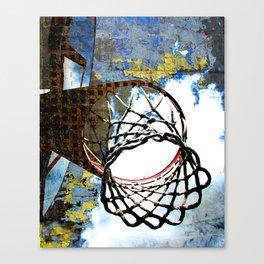 Basketball artwork vs 30 swoosh Canvas Print